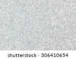 white glitter texture christmas ... | Shutterstock . vector #306410654