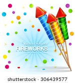vector festive background with...   Shutterstock .eps vector #306439577