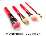 cosmetic brush | Shutterstock . vector #30644614