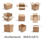 collection of  various... | Shutterstock . vector #306511871