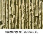 High contrast concrete - stock photo