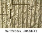 High contrast title wavy concrete - stock photo