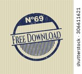 free download rubber stamp | Shutterstock .eps vector #306611621