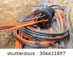 new glass fiber cable | Shutterstock . vector #306611897