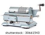 Vintage Mechanical Adding...