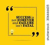 inspirational motivational... | Shutterstock .eps vector #306666605