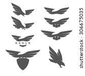 Set Of Negative Space Emblems...