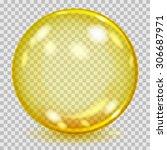 Big Yellow Transparent Glass...