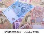 background of the ukrainian... | Shutterstock . vector #306695981