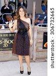 salma hayek at the los angeles... | Shutterstock . vector #306732665
