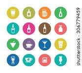 drinks icons universal set for... | Shutterstock . vector #306779459