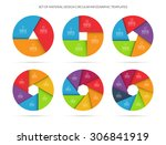 vector colorful infographic... | Shutterstock .eps vector #306841919