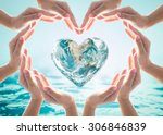 world heart day and... | Shutterstock . vector #306846839