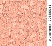 seamless pattern with same... | Shutterstock .eps vector #306880361