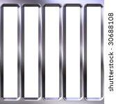 3d metal cage | Shutterstock . vector #30688108
