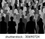 people background | Shutterstock .eps vector #30690724