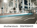 city road viaduct streetscape... | Shutterstock . vector #306908405