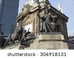 the angel monument to...   Shutterstock . vector #306918131