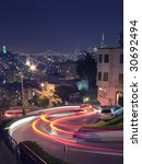 lombard street in san francisco ... | Shutterstock . vector #30692494