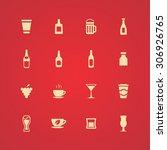 drinks icons universal set for... | Shutterstock . vector #306926765