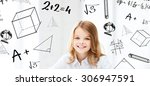 education and school concept  ... | Shutterstock . vector #306947591