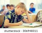 education  elementary school ... | Shutterstock . vector #306948311