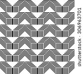 seamless stripe pattern. vector ... | Shutterstock .eps vector #306963701