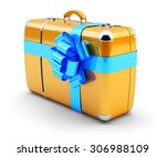travel as a gift  journey offer ... | Shutterstock . vector #306988109