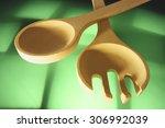 wooden utensils   Shutterstock . vector #306992039