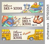 Back To School Set Of Banners....