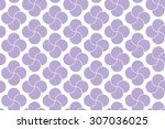 purple colored shapes on white...   Shutterstock .eps vector #307036025