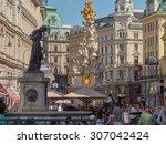 vienna  austria   16 jul 2014 ... | Shutterstock . vector #307042424