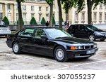paris  france   august 8  2014  ... | Shutterstock . vector #307055237