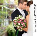 wedding. | Shutterstock . vector #307055945