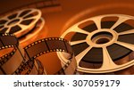 reel with tape | Shutterstock . vector #307059179
