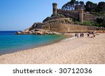 stone wall and towers of the... | Shutterstock . vector #30712036