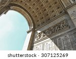 triumphal arch of the star ...   Shutterstock . vector #307125269