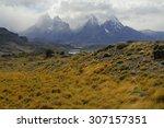 Постер, плакат: Alpine Wilderness landscape in