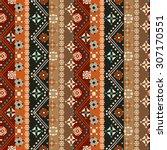 ethnic boho seamless pattern.... | Shutterstock .eps vector #307170551
