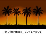 Vector Realistic Palm Trees...