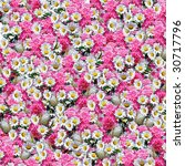 natural color flower paper cover | Shutterstock . vector #30717796