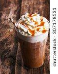 Delicious Frappe Coffee On The...