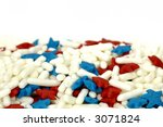 photo of red  white and blue... | Shutterstock . vector #3071824