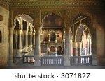 Tipu Sultan's Palace, Bangalore, teak wooden pillars, built in 1791