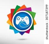 joystick icon color icon ...