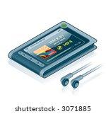 computer hardware icons set  ... | Shutterstock .eps vector #3071885