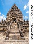 prambanan or candi rara...   Shutterstock . vector #307211255