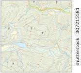 topographic map  | Shutterstock .eps vector #307215581