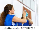 Attractive Woman Washing The...