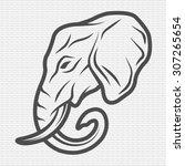 Elephant Symbol  Logo  Emblem....